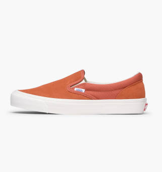 Vans OG Classic Slip-On LX (V00UDFOIT) orange