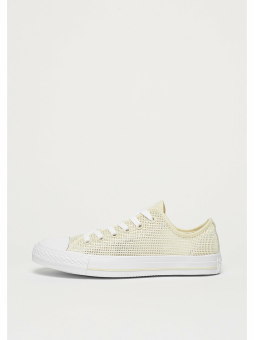 Converse Schuh Chuck Taylor All Star Ox natural/frayed burlap/white (157405C) braun