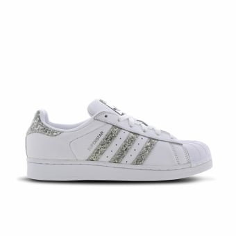 adidas Originals Superstar Glitter (S76923) weiss