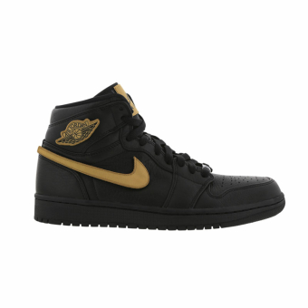 NIKE JORDAN Air 1 Retro High BHM (908656-001) schwarz