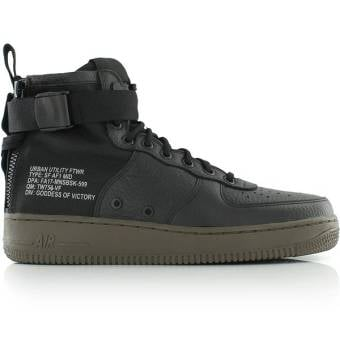 Nike SF Air Force 1 Mid (917753-002) schwarz