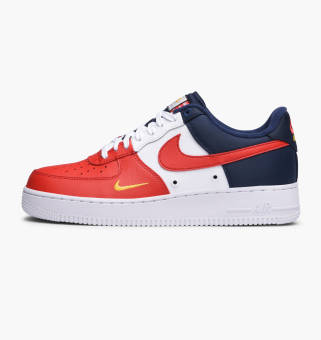 Nike Air Force 1 07 LV8 University Red (823511-601) rot