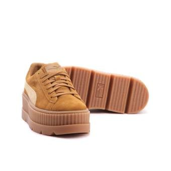 new style 384e0 dee58 Puma Fenty Cleated Creeper Suede in braun - 366268-02 ...