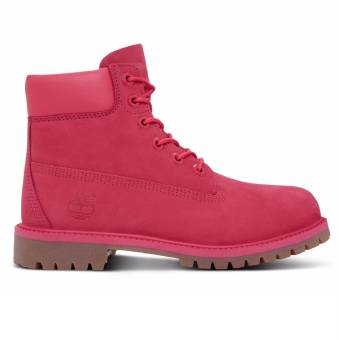 Timberland 6 inch Premium WP Boot Kinder (CA1ODE) rot