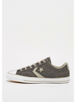 Converse Star Player Herringbone Ox malted/white/black (157763C) braun