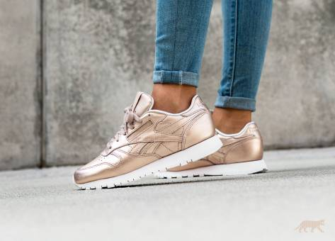 82a7a28d93d Reebok Classic Leather Melted Metal in braun - BS7897