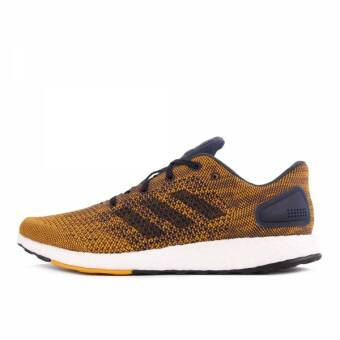adidas Originals Pure Boost DPR  Noble Ink Tactile Yellow (S82012) orange