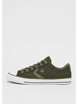 Converse Star Player Herringbone Ox medium olive/white/black (157764C) grün