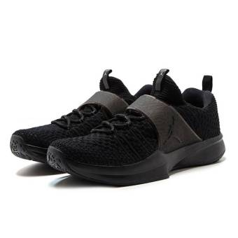 NIKE JORDAN Trainer 2 Flyknit Training black (921210-013) schwarz