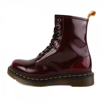 Dr. Martens 1460 Vegan 8 Eye Cambridge Brush Cherry Red (24226600) rot