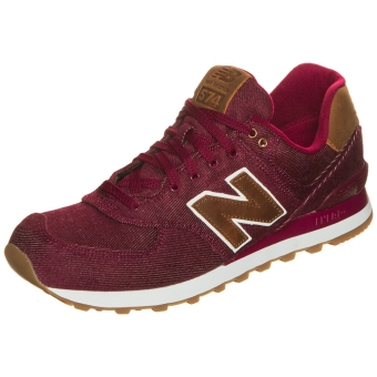 New Balance ML574 Sneaker Canvas (545641-60-18) rot