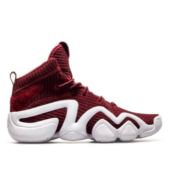 adidas Originals Crazy 8 PK ADV Collegiate Burgundy White (BY4366) rot