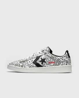 Converse x Pro Keith Leather Haring OX (171857C) weiss