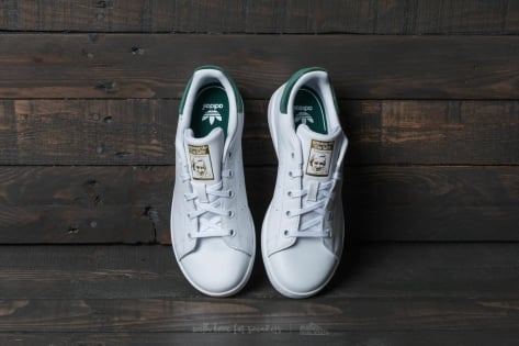 adidas Originals Stan Smith C Ftw White/ Ftw White/ Core Green (BY9995) weiss