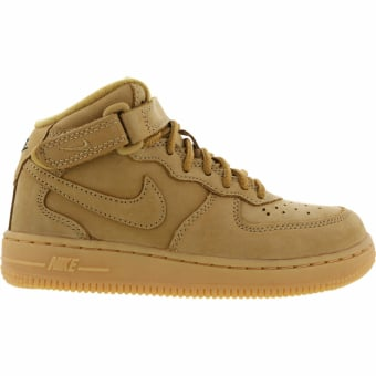 nike air force 1 weiß braun
