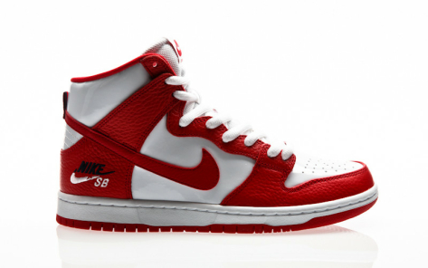 Nike Zoom Dunk High Pro (854851-661) rot