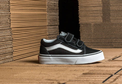 Vans Old Skool V (VHE6BT) schwarz