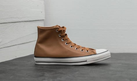 Converse Chuck Taylor All Star Hi Leather (157467C) braun
