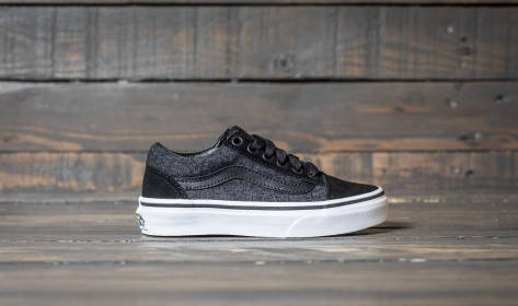 Vans Old Skool (Suede & Suiting) (8HBOSN) schwarz