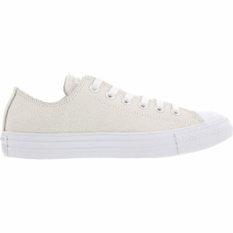 Converse All Star Leather Ox W (553348C) weiss