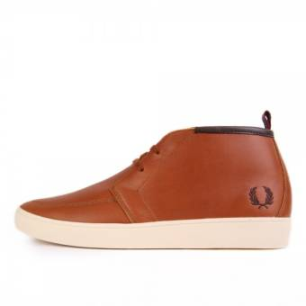 Fred Perry Shield Mid Leather (B9150448) braun