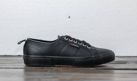 Superga 2750 Full Grain Leather (S009HL0 A09) schwarz