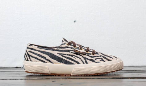 Superga 2750 Fabric Synthetic Zebra W (S00BEG0 912) weiss