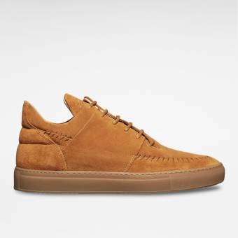 Filling Pieces Low Top Native Suede (12301451166-COG) braun