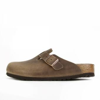 Birkenstock Boston FL Tobacco Brown (0960811) braun