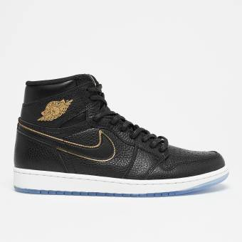 NIKE JORDAN Air 1 Retro High OG (555088-031) schwarz