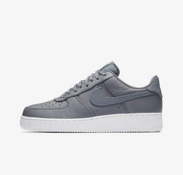 Nike Air Force 1 07 Premium Light Carbon (905345-003) grau