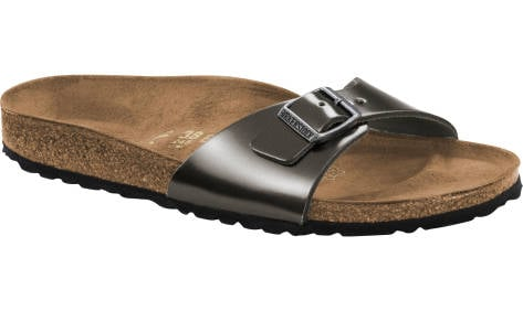 Birkenstock Madrid NL Metallic Anthracite (1004053) grau