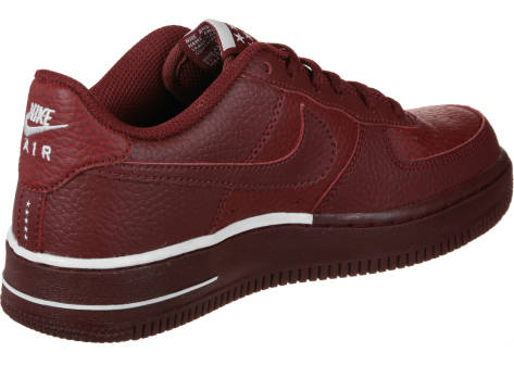 Nike Air Force 1 Gs (596728-627) rot