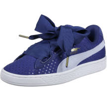 Puma Basket Heart Denim Sneaker (363371 0001)