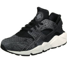 Nike Wmns Air Huarache Run Premium Black Sneaker (683818-013)