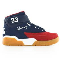 Ewing 33 mid Sneaker (33  MID 2049, NAVY RED GUM)