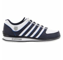K-Swiss Rinzler Sp White Navy Brilliant Blue Sneaker (02283-127-M)