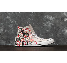 Converse Chuck Taylor All Star Hi Mouse/ Enamel Red/ White Sneaker (159713C)