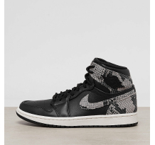 NIKE JORDAN Air 1 Retro High Premium black Sneaker (AH7389-014)