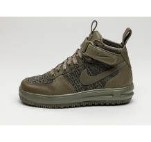 Nike Wmns Lunar Force 1 Flyknit Workboot Sneaker (860558-200)