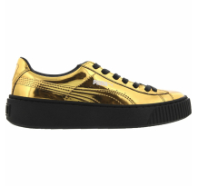 Puma Basket Creepers Metallic Sneaker (362339-04)