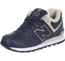 New Balance Ml574 Leather Fur Running Sneaker (382781-60 10)