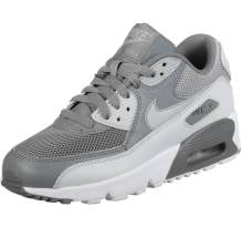 Nike Air Max 90 Mesh GS Grey Sneaker (833418-016)