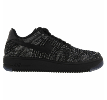 Nike Wmns Air Force 1 Flyknit Low Black Sneaker (820256-007)