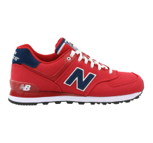 New Balance ML574POR| 574 Pique Polo Pack Red Sneaker (ML574POR)
