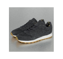 Reebok Classic Leather Sneakers Lead/White Gum Sneaker (BS7528GRY)