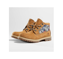 Timberland Nellie Chukka Double Fabric and Leather Boots Wheat Nubuck Sneaker (CA1GZF)