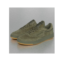 Reebok Club C 85 TG Sneakers Hunter Green/Polar Green-Gum Sneaker (BD4759HUNGRE)