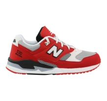 New Balance 530 Leather Textile Sneaker Rot Sneaker (M530CVA)