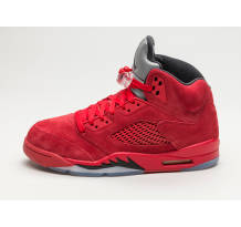 Nike Air Jordan 5 Retro Red Suede Sneaker (136027 602)